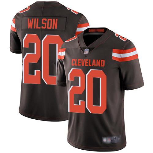 Youth Morgan Burnett Limited Camo Jersey - Cleveland Browns Football #42 Rush Realtree