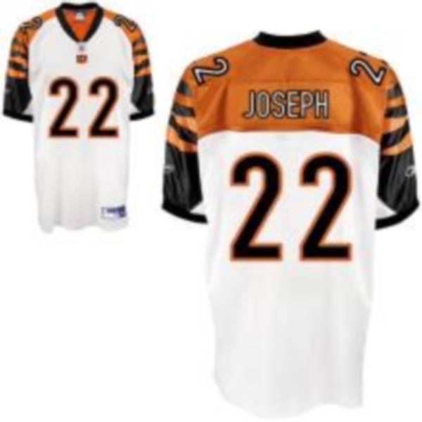 Bengals #22 Johnathan Joseph White Stitched NFL Jersey