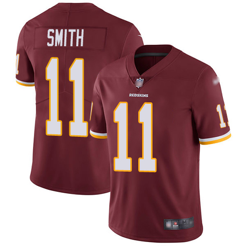 Nike Redskins #11 Alex Smith Burgundy Red Team Color Youth Stitched NFL Vapor Untouchable Limited Jersey
