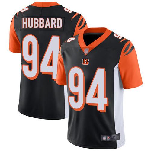 #94 Cincinnati Bengals Sam Hubbard Limited Youth Home Black Jersey: Football Vapor Untouchable