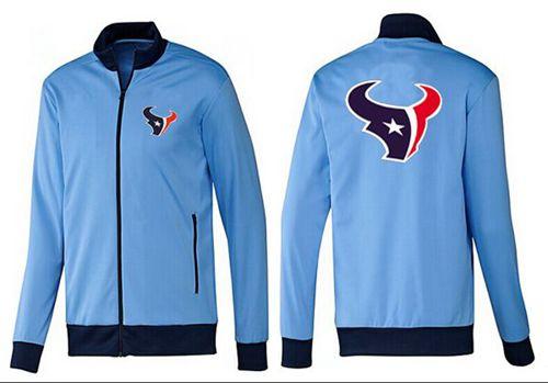 NFL Houston Texans Team Logo Jacket Light Blue