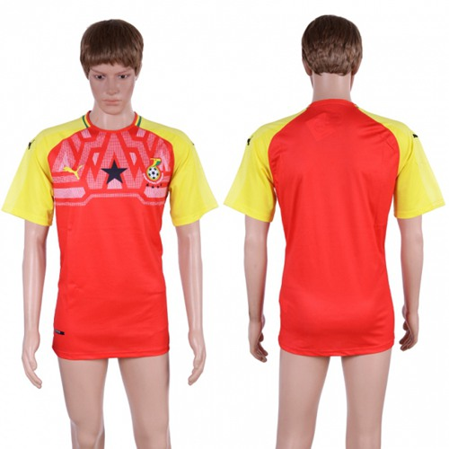 Ghana Blank Home Soccer Country Jersey