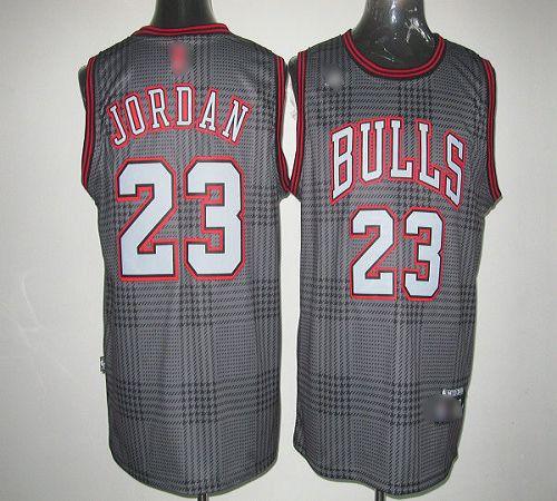 Bulls #23 Michael Jordan Black Rhythm Fashion Stitched NBA Jersey