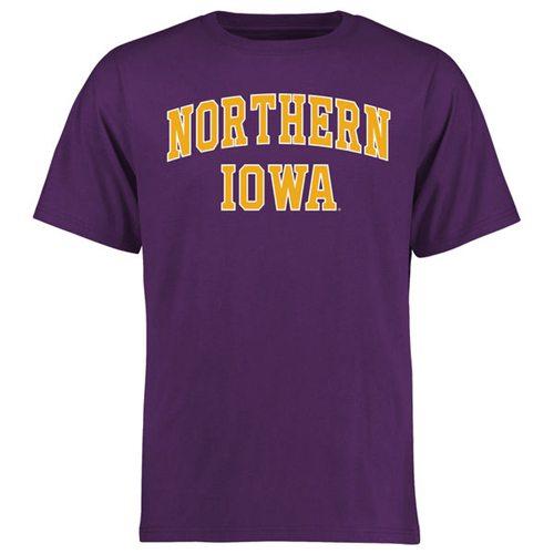 Northern Iowa Panthers Everyday T-Shirt Purple