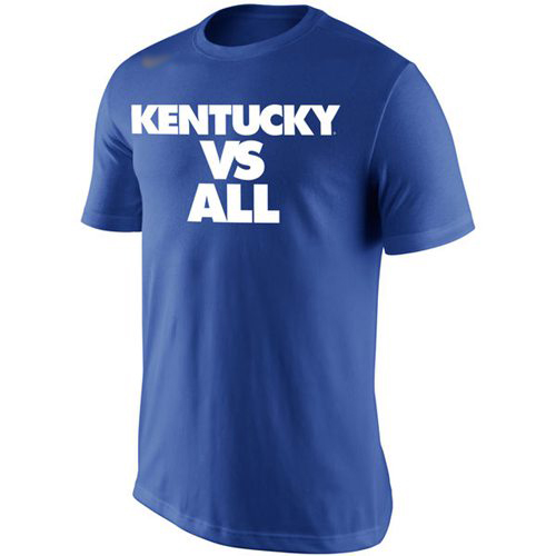 Kentucky Wildcats Nike Selection Sunday All T-Shirt Royal