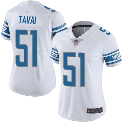 Nike Lions #15 Golden Tate III Light Blue Team Color Women's Stitched NFL Vapor Untouchable Limited Jersey
