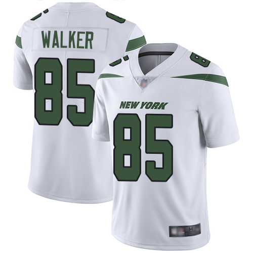 #85 New York Jets Wesley Walker Limited Youth Road White Jersey: Football Vapor Untouchable