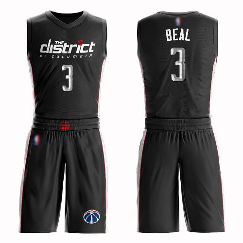 Women's Bradley Beal Black Swingman Jersey - Washington Wizards #3 Suit City Edition Basketball