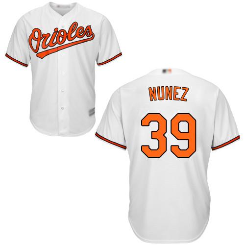 #39 Replica Renato Nunez Men's White Baseball Jersey - Home Baltimore Orioles Cool Base