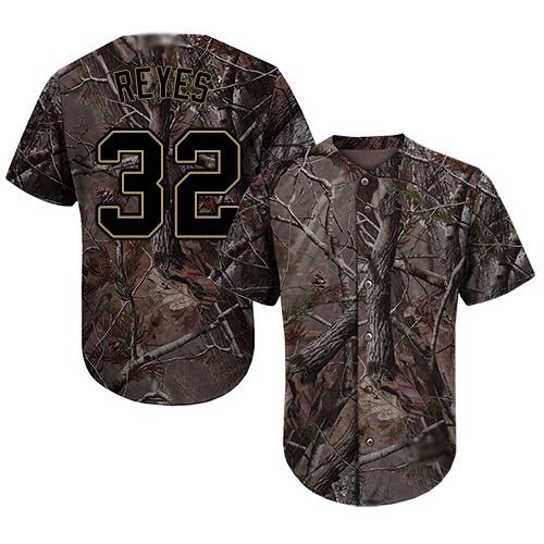 Youth Authentic Franmil Reyes Camo Jersey - #32 Baseball San Diego Padres Flex Base Realtree Collection